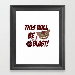 League of legends Ziggs T-Shirt Framed Art Print