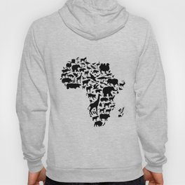 Animals of Africa Hoody