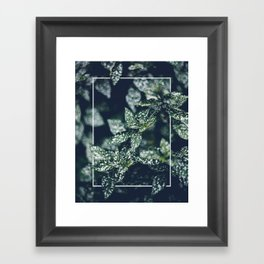 In the Garden with Rectangle Framed Art Print