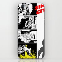 sin city iPhone & iPod Skins featuring Sin City by FYeahMelissa