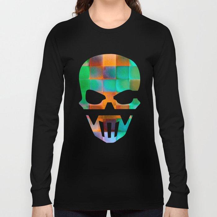 CHECKED DESIGN II Long Sleeve T-shirt