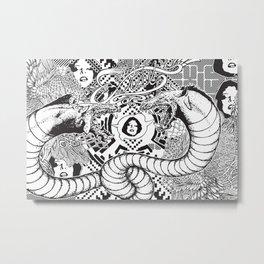 Beasting Delux Mode Metal Print