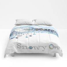 Snowy Owl  Comforters
