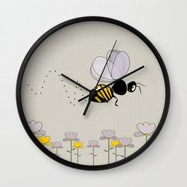 Bee Cute! Wall Clock