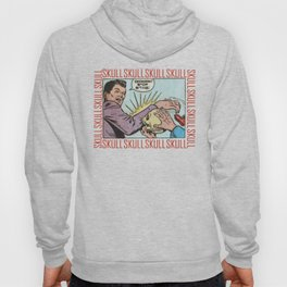 SKULL COMIC STRIP Hoody