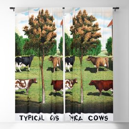 Typical Cows Blackout Curtain
