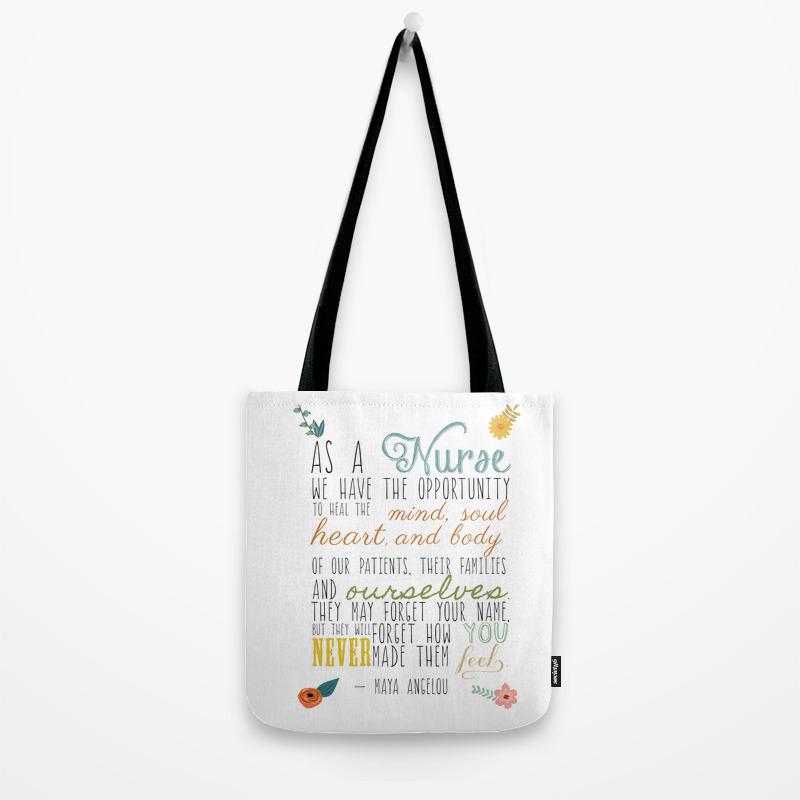 As A Nurse Tote Bag
