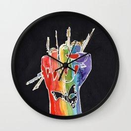 Femme Fury Wall Clock