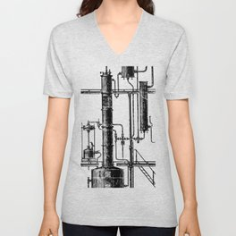 Brockhaus-Efron Distillery 6 Unisex V-Neck