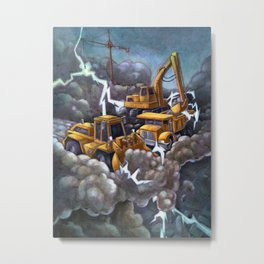 Sound of Thunder Metal Print