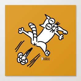 CATFFFFF Canvas Print