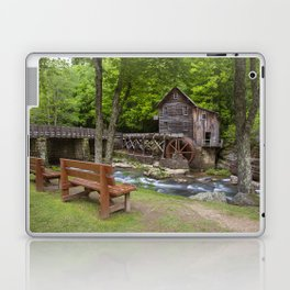 Glade Creek Grist Mill In Summer Laptop & iPad Skin