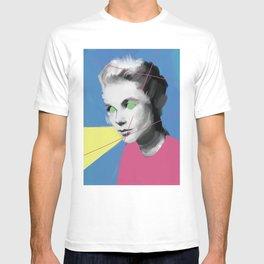 Princess Grace, POP art style, digitally painted T-shirt