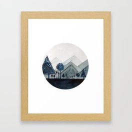 Grad Landscape Framed Art Print