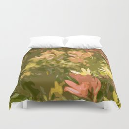 Protea fields Duvet Cover