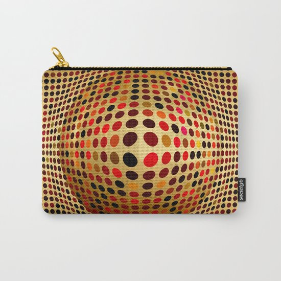Ball illusion art Carry-All Pouch