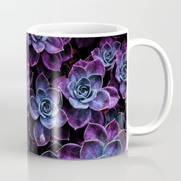 Dark Unicorn Succulent Garden Coffee Mug