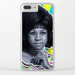 Aretha - Queen of Soul Clear iPhone Case