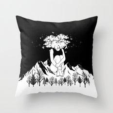 Across The Universe Throw Pillow