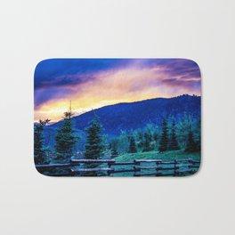 Purple Mountains Majesty - Colorado Sunrise Bath Mat