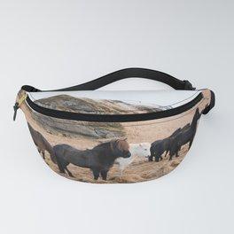 Icelandic Horses Fanny Pack