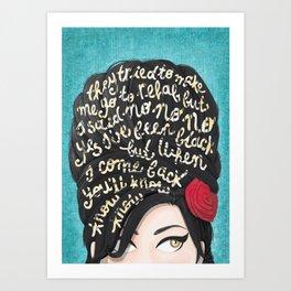 Rehab Art Print