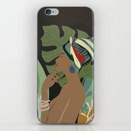 Woman with a Tuban iPhone Skin