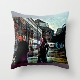 Cold Assessment Throw Pillow
