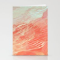 waves Stationery Cards featuring Waves by Okti
