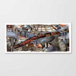 Jurassic Park - When Dinosaurs Ruled the Earth Canvas Print