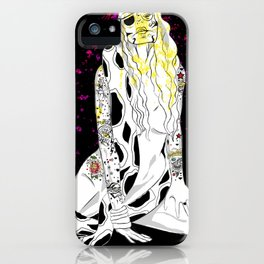 GIRL RULES iPhone Case