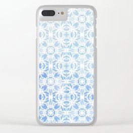 SOFT WATERCOLOR ORNAMENT Clear iPhone Case