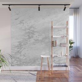 Light Grey Marble Silver Glitter Gray Wall Mural