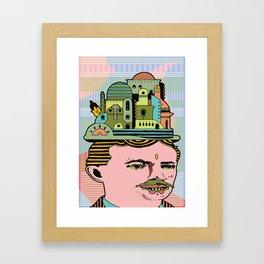 GLAD HATTER 3 Framed Art Print