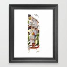 Fifth Street  Framed Art Print