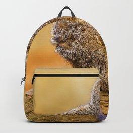 Meerkat (Color) Backpack
