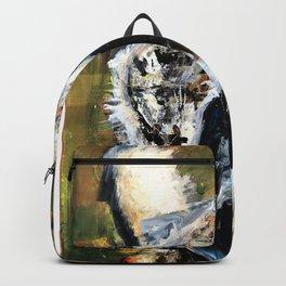 Great Horned Owl. wildlife. nature. bird. owl. Backpack