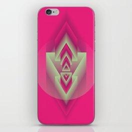 Pink Descent iPhone Skin