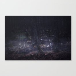 Strange things happen in these woods, I Canvas Print
