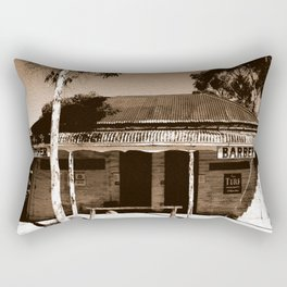 Step back in Time! Rectangular Pillow