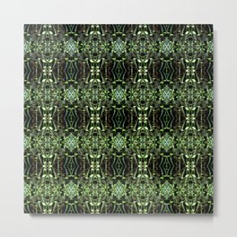 Seedlings pattern Metal Print