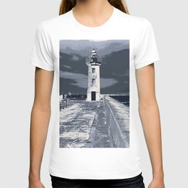 like a lighthouse T-shirt