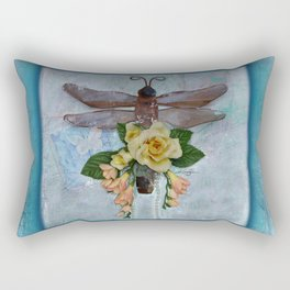 Dragonfly Love by Kathy Morton Stanion Rectangular Pillow