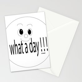 """""""Keep Smiling"""" Stationery Cards"""