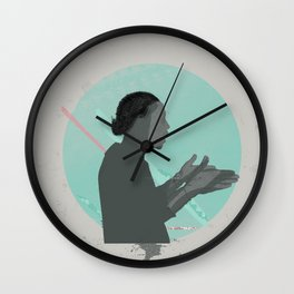Old School Love Wall Clock