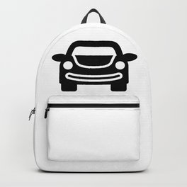 Happy Smiling Car Backpack