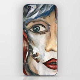Cautious 1 iPhone Skin