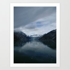 Johns Hopkins Glacier Art Print
