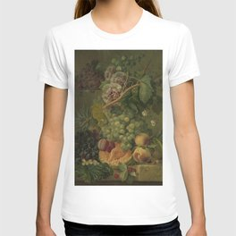 Still Life with Flowers and Fruits, Albertus Jonas Brandt (1816 - 1817) T-shirt