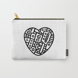 Iron heart (B&W Edition) - PM Carry-All Pouch